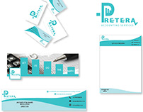 Pretera accounting services Corporate identity
