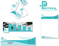 Pretera accounting services Corporate identity