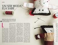Ilustração de Revista