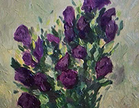 Violet flowers 2016