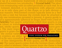 QUARTZO - Type System For Magazines