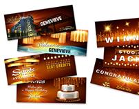 Slot show graphics, Sands Casino