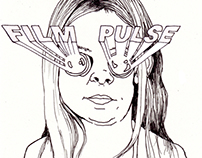 FILM PULSE t-shirt desing