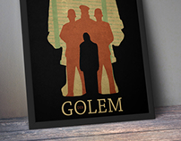 REIMAGINED DER GOLEM POSTER