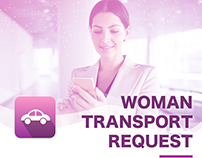 Woman Transport Request App