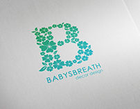 BabysBreath Logo and Business Card Design