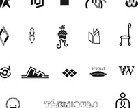Dripping Logos