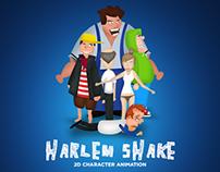 Harlem Shake - 2D Character Animation