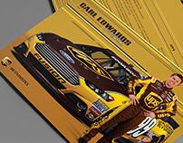 2013 Carl Edwards UPS Autograph Card