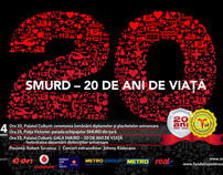 SMURD 20 years - campaign