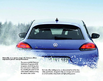 VW Scirocco Sales Brochure