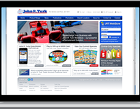John R. Turk WebSite Redesign