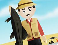Fishfishme Character Design / Storyboard