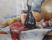 Still Life    water-color