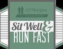 JP Morgan Chase Run Company T-shirt