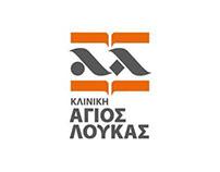ST. LUKE' S HOSPITAL logo redesign