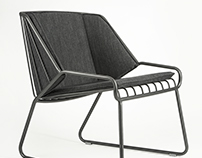 Cage, lounge chair