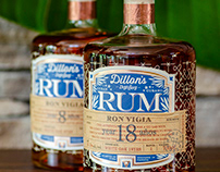 Dillon's Rum Brand & Label Design