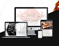 Web site Alaska restaurant