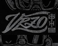 VRZO // ISSARA X GEORGE // T-SHIRT DESIGN