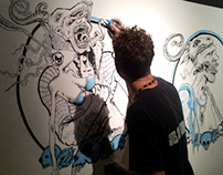 Murals / Live Drawing