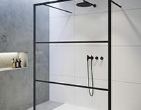 Bathroom screens / Product renders