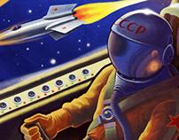 Kosmonauts - Board Game