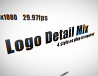 Logo Detail Mix After Effects Template