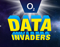 O2 DATA INVADERS - game