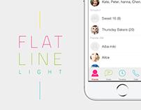 LINE Creators Theme [ FLAT LINE ]