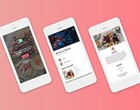 Syria Supper Club Mobile Website Design