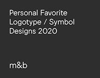 Top 10 Personal Favorite Logotypes / Symbol Marks 2020