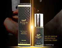 Schanis Men Perfume Banner Design