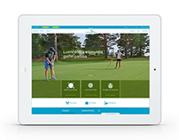 Yyteri Golf | Web design