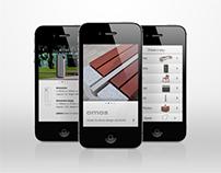 Omos furniture app.