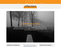Inflection Blog Website Concept