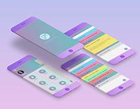 esnote UI app design