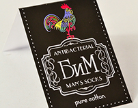 BiM Socks Labels