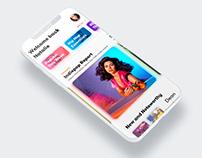 Music Magazine App