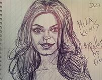 Mila Kunis by pallominy D27 C2 feb 26 2013 MD USA