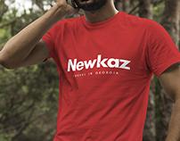 NEWKAZ - Brand Identity Design