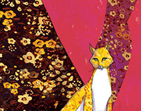 Woman cat