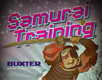 Samurai training