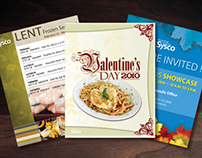 Sysco Marketing Material Redesigns