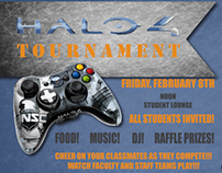 Halo 4 Tournament Poster