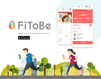 FiToBe health-management application - Android