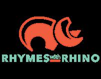 Rhymes with Rhino (logo)