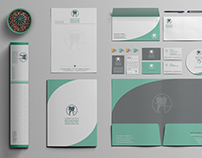 Branding stationary for Vasiloudis Dental Care