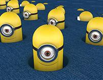 Minions Mograph Animation