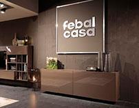 stand FEBAL CASA - Salone del Mobile Milano 2016